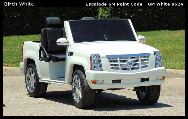 Cadillac Escalade Golf Cart Sales Service Rentals And