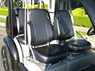 Ford Think Neighbor : Black 4 Seater | Golf Cart : LSV Carts