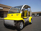 Ford Think Neighbor : Yellow 4 Seater | Golf Cart : LSV Carts