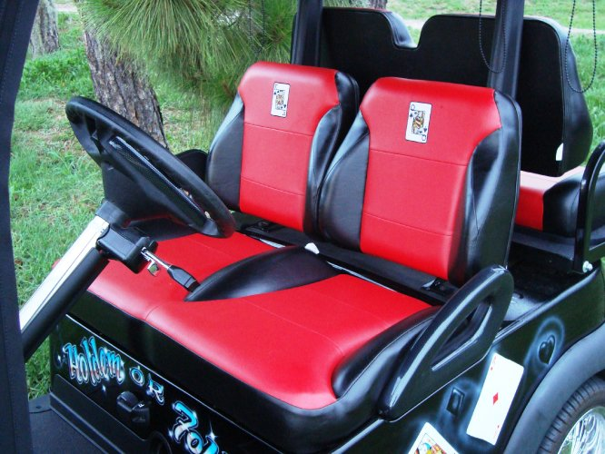 Golf Cart Seat Replacement : Golf cart seats sales service rentals and consignment