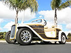 The California Roadster Woody Golf Cart : LSV Carts